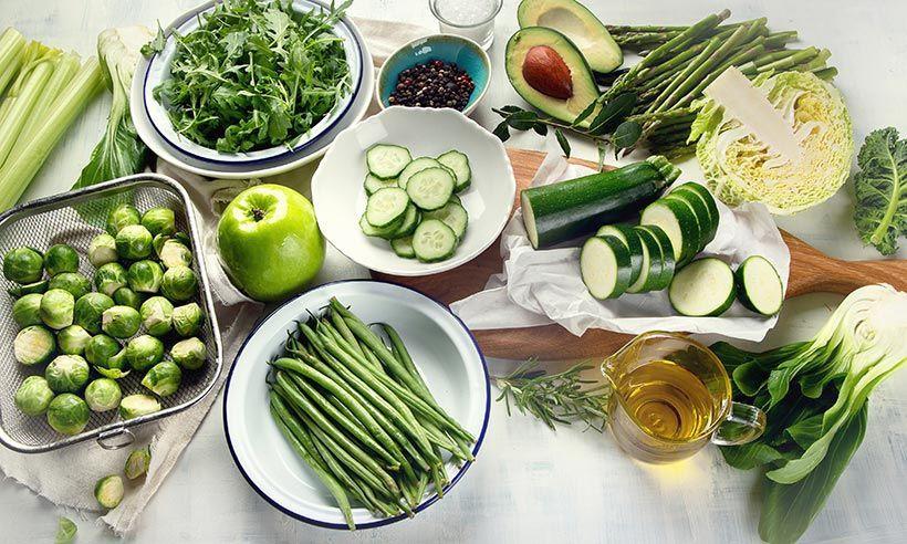 Nguyên tắc giảm cân hiệu quả ăn nhiều rau và hạn chế tinh bột