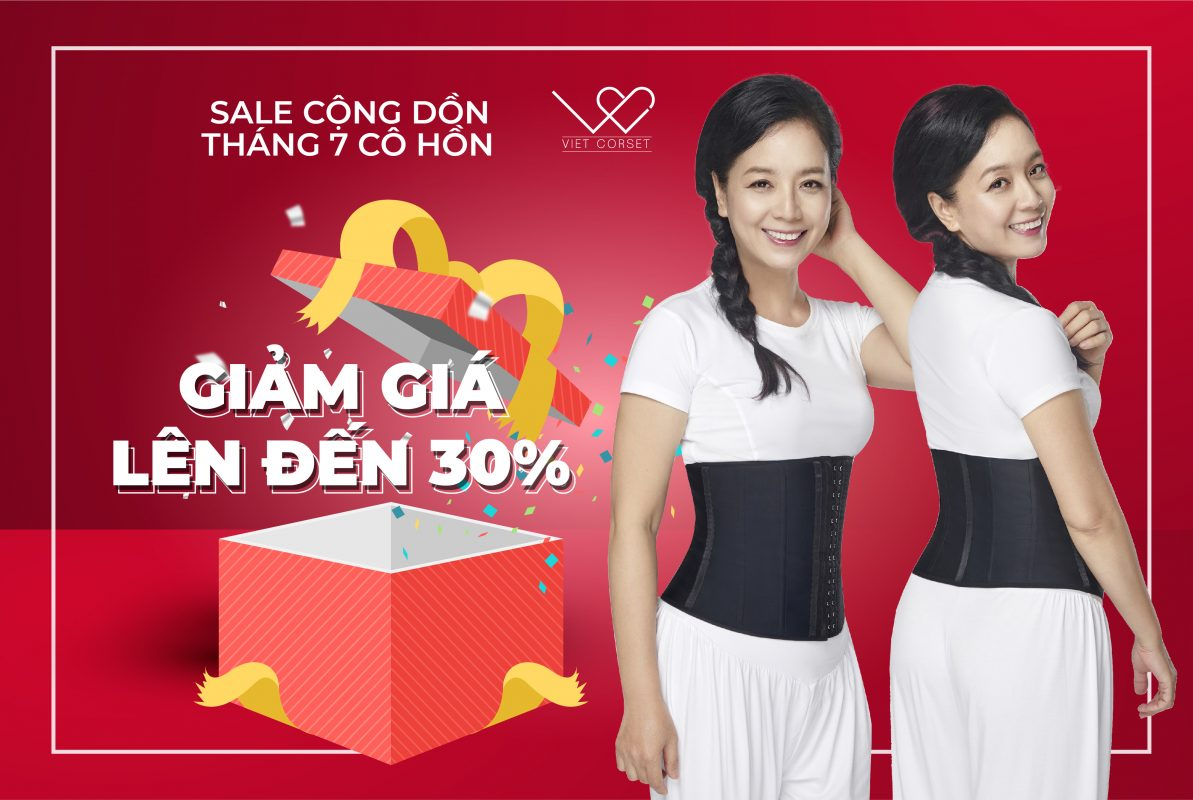 Sale 8-10/8/2019 Việt Corset