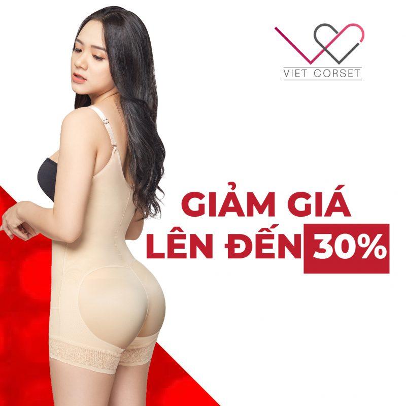 Body Slim định hình vóc dáng BIG SALE 2/9: Giảm giá 30%